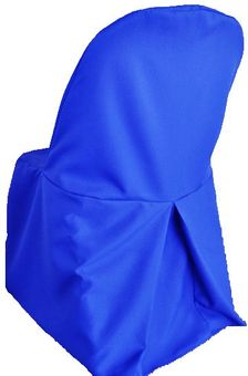 Polyester Folding Chair Covers - (14 Colors)