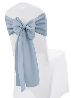 """Sample 8""""x 108"""" Polyester Chair Sashes (27 Colors)"""