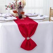 Striped Jacquard Polyester Table Runners (7 colors)