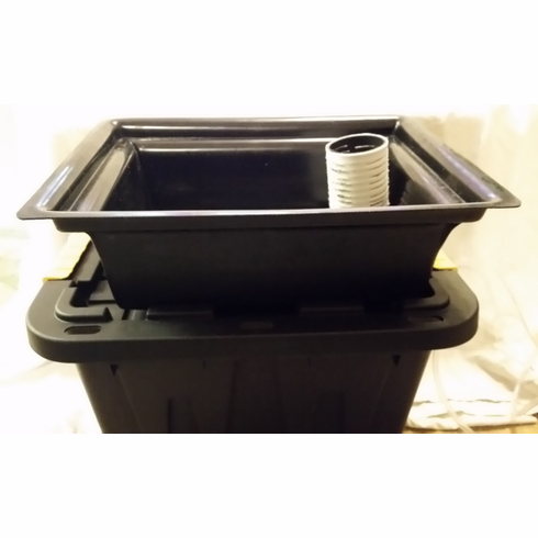 Hydroponic HyPonics Ebb and Flow Container