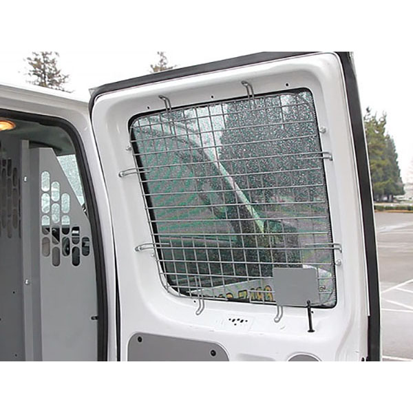 Commercial Van Window Guards Rear|Strongs Truck & Van Upfitters