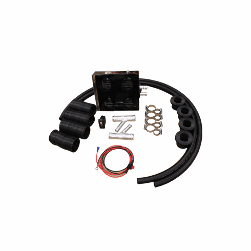 UPI Polaris RZR 1000 | RZR 900 Underdash Deluxe Cab Heater Kit with Defrost