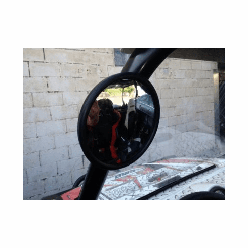 "5-1/2"" Rearview UTV Mirror With a 1-3/4"" Bracket"