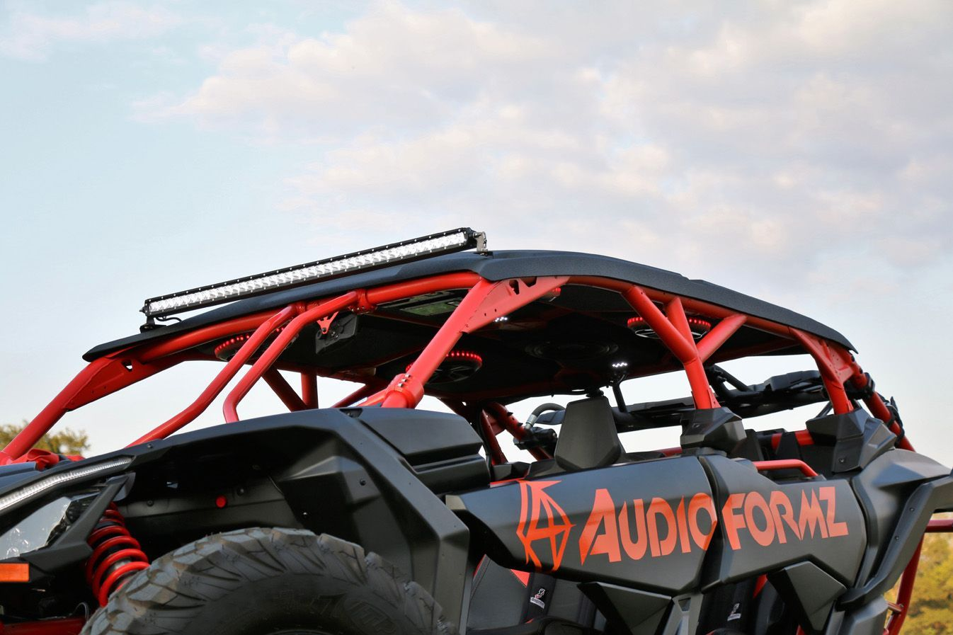Audioformz Can Am Maverick X3 Max Stereo Top