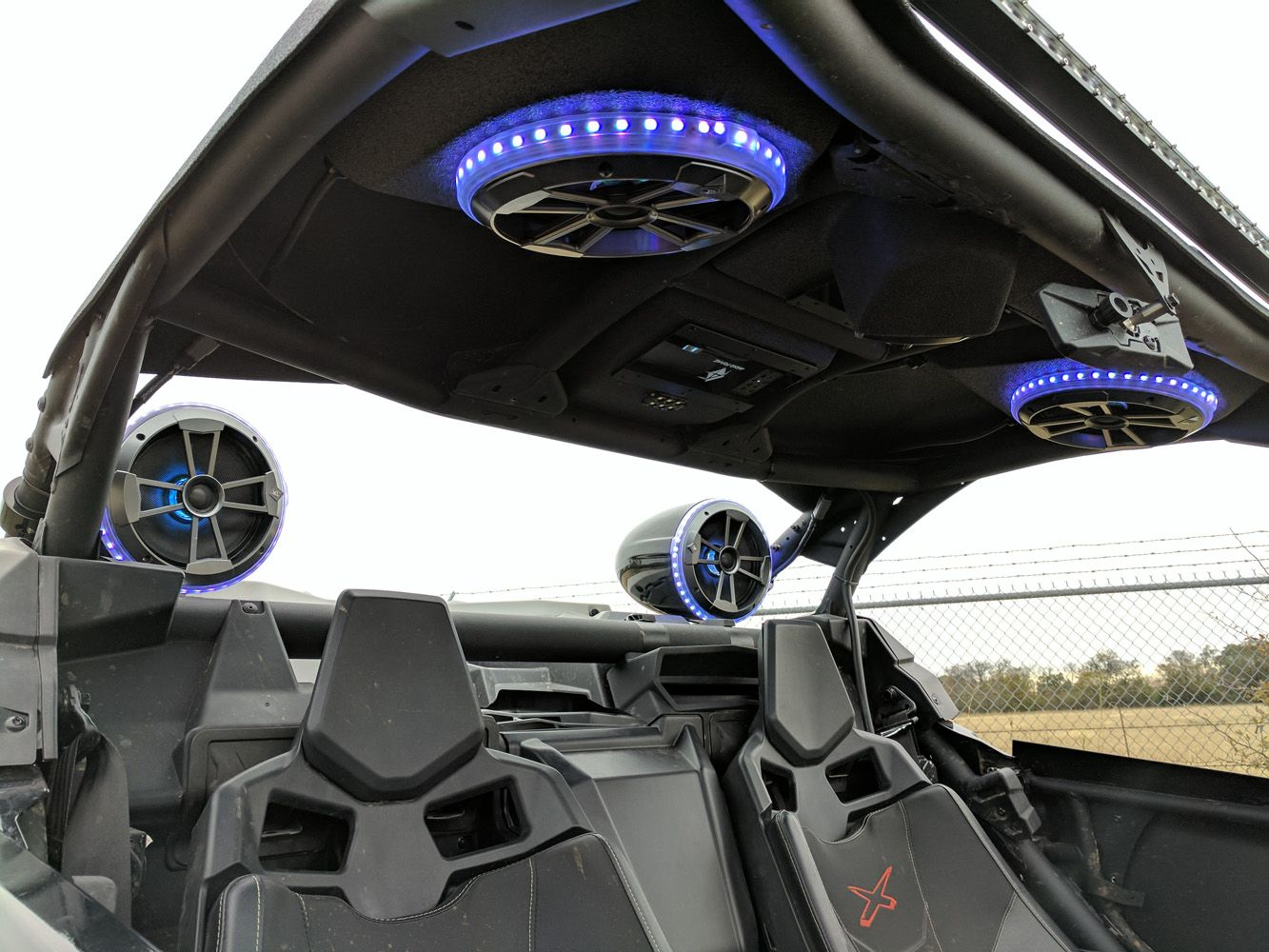 Audioformz Can Am Maverick X3 Stereo Top Side By Side Sports