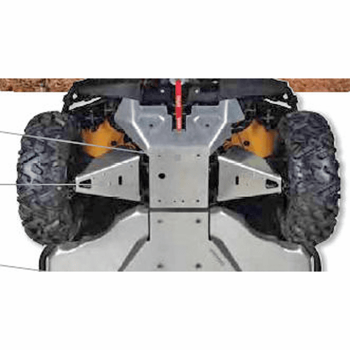 Can-Am Commander Front A-Arm Skid Plates