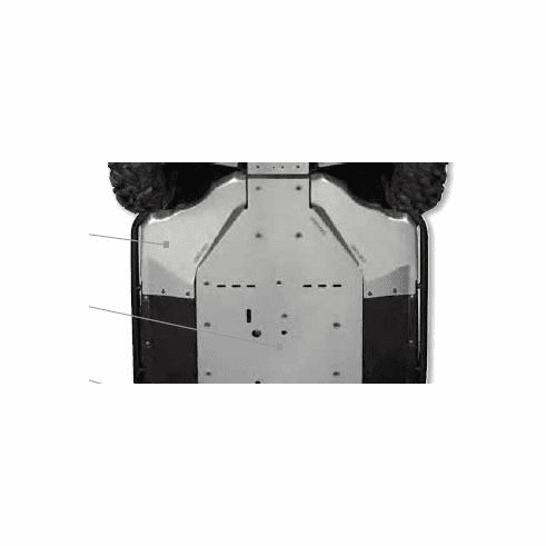 Can Am Commander Lateral Skid Plates