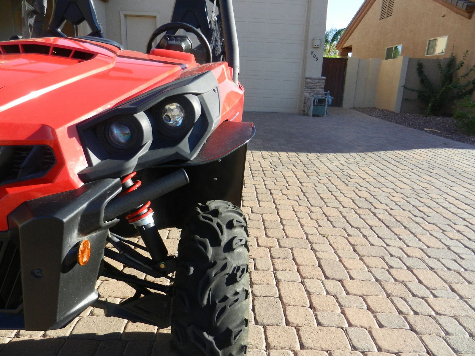 Mudbuster Can Am Commander Extreme Fender Flares