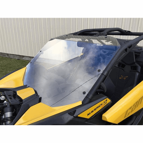Can-Am Maverick X3 Hard Coated Windshield w/Fast Straps by EMP