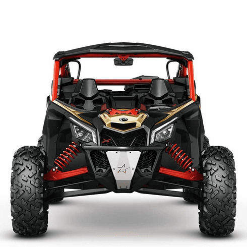 Can Am Maverick X3 Lonestar Racing Front Bumper Black
