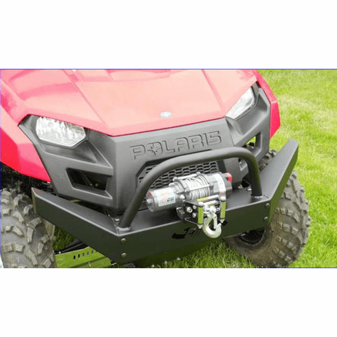 EMP Polaris Ranger 400   500 Extreme Front Bumper with Winch Mount