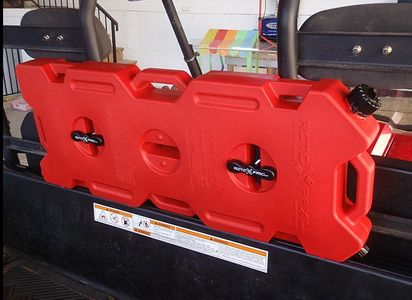 Utv Fuel Packs And Jugs Roto Pax Open Trail Gas Cans