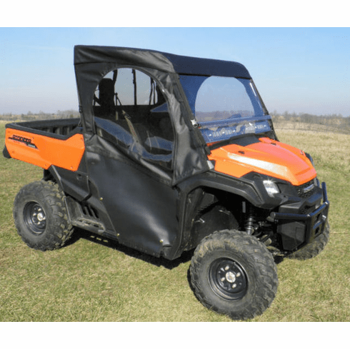 Hondagcl Honda Pioneer 1000 Full Cab Enclosure With Split
