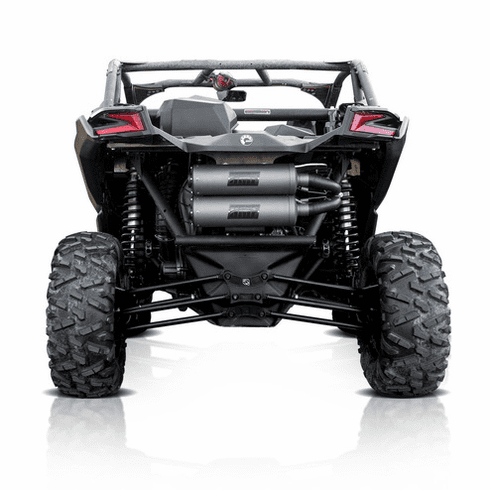 HMF Titan Dual Full Turbo Exhaust Can Am Maverick X3