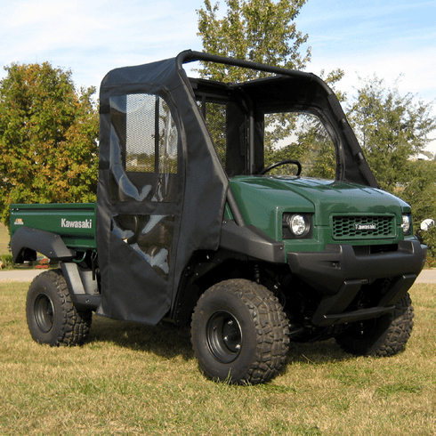 Kawasaki Mule 40004010 Soft Door Rear Window Combo