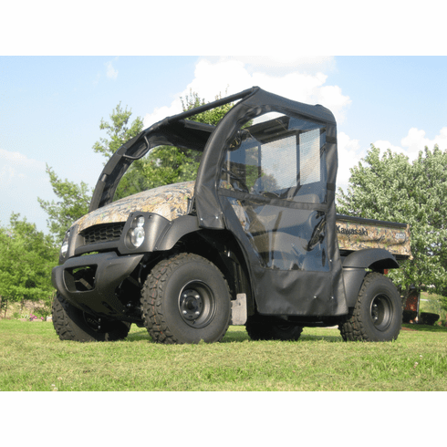 Kawasaki Mule 600610 Soft Door Rear Window Combo