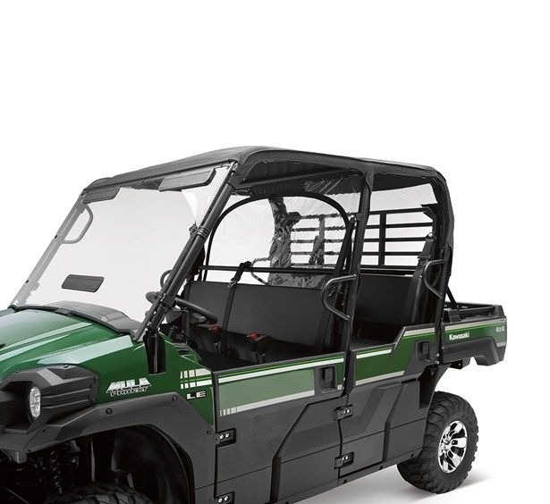 Kawasaki Mule Pro Fxt Roof And Back Soft Cab Enclosure