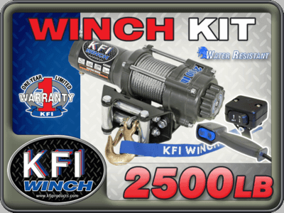Kfi Winches / Mount Combos