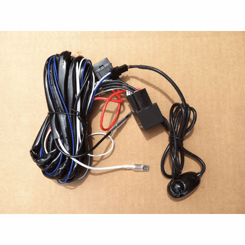 LED Light Wiring Harness and Switch