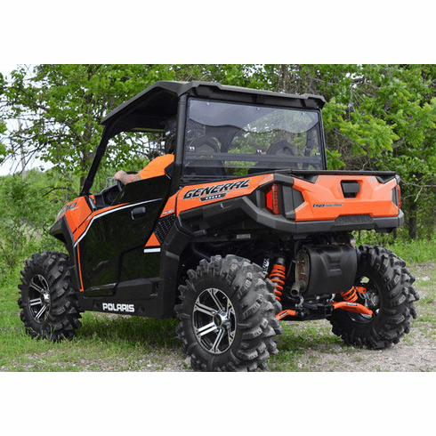 Polaris General Clear / Tinted Rear Windshield by SuperAtv