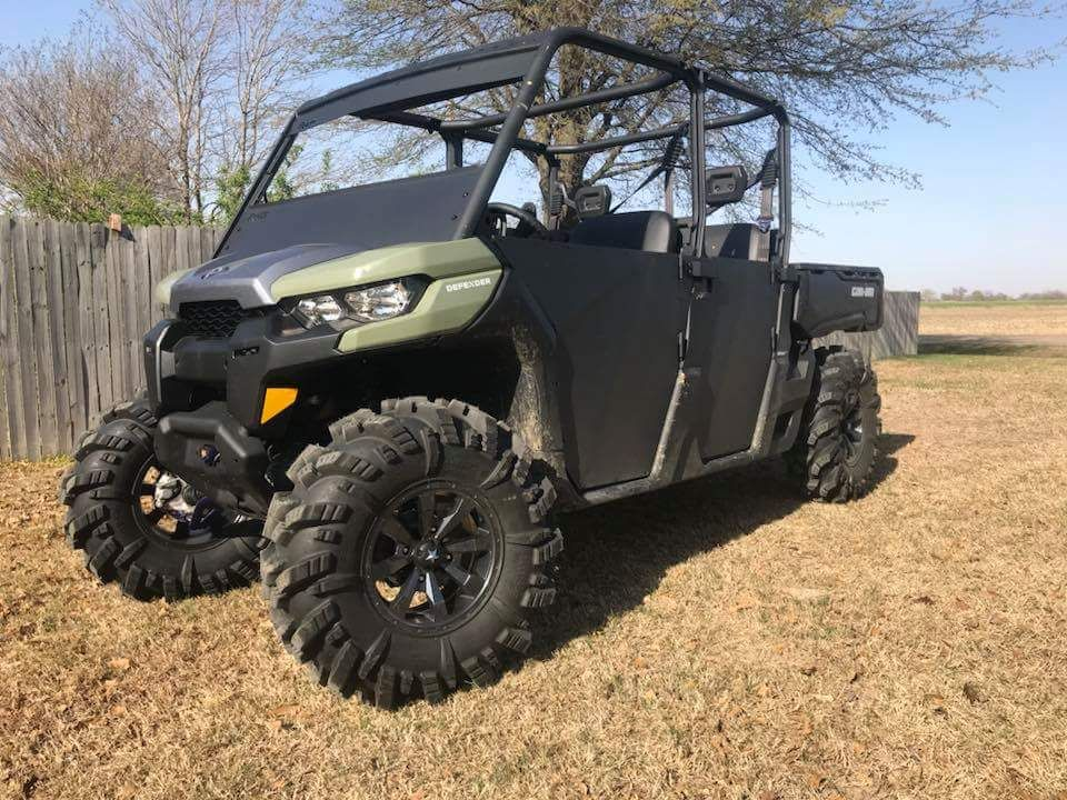 Rage Fab Can Am Defender Max Half Doors Side By Side Sports