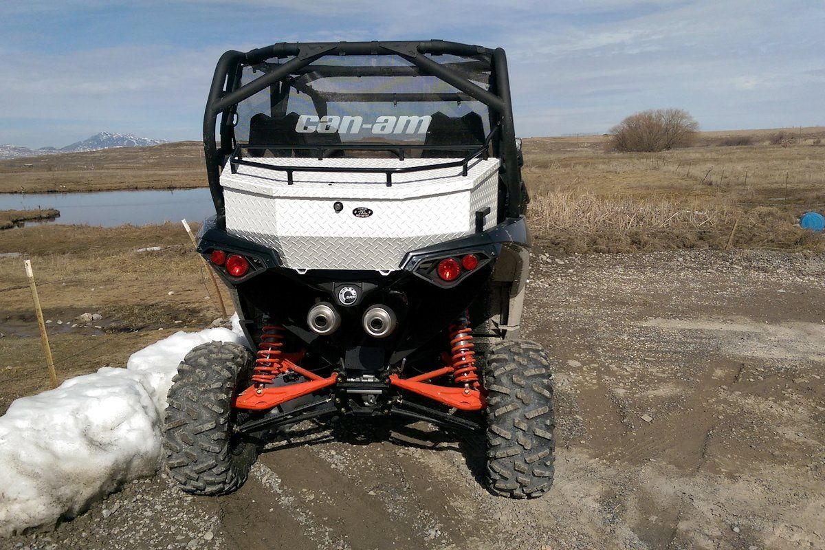 Ryfab Can Am Maverick Aluminum Cargo Box
