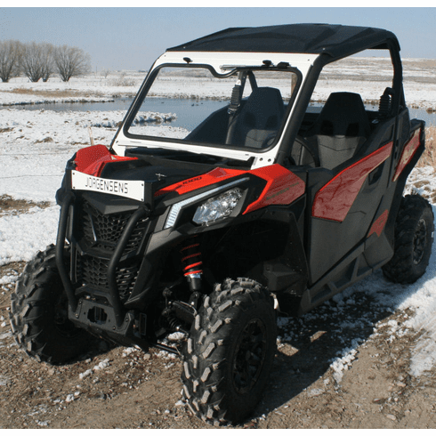 Ryfab Can Am Maverick Trail | Sport Glass Folding Vented Windshield