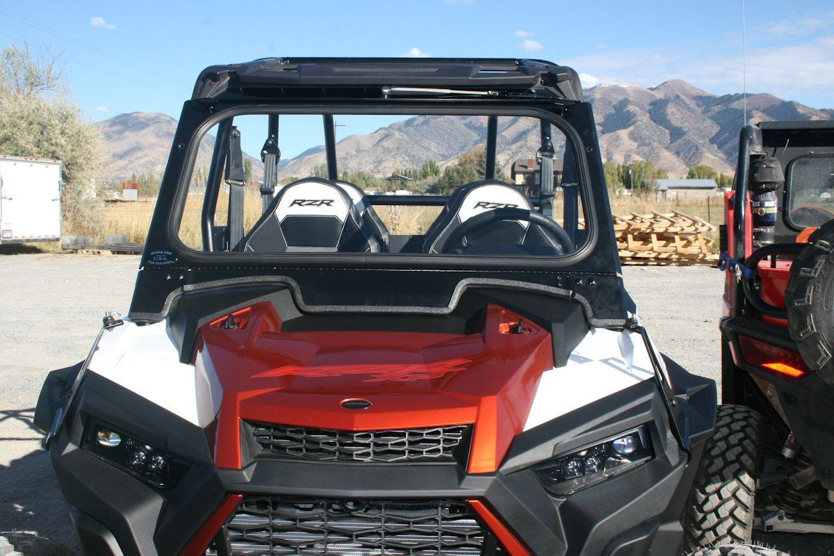 Ryfab Polaris Rzr 900 Rzr 1000 Folding Vented Glass