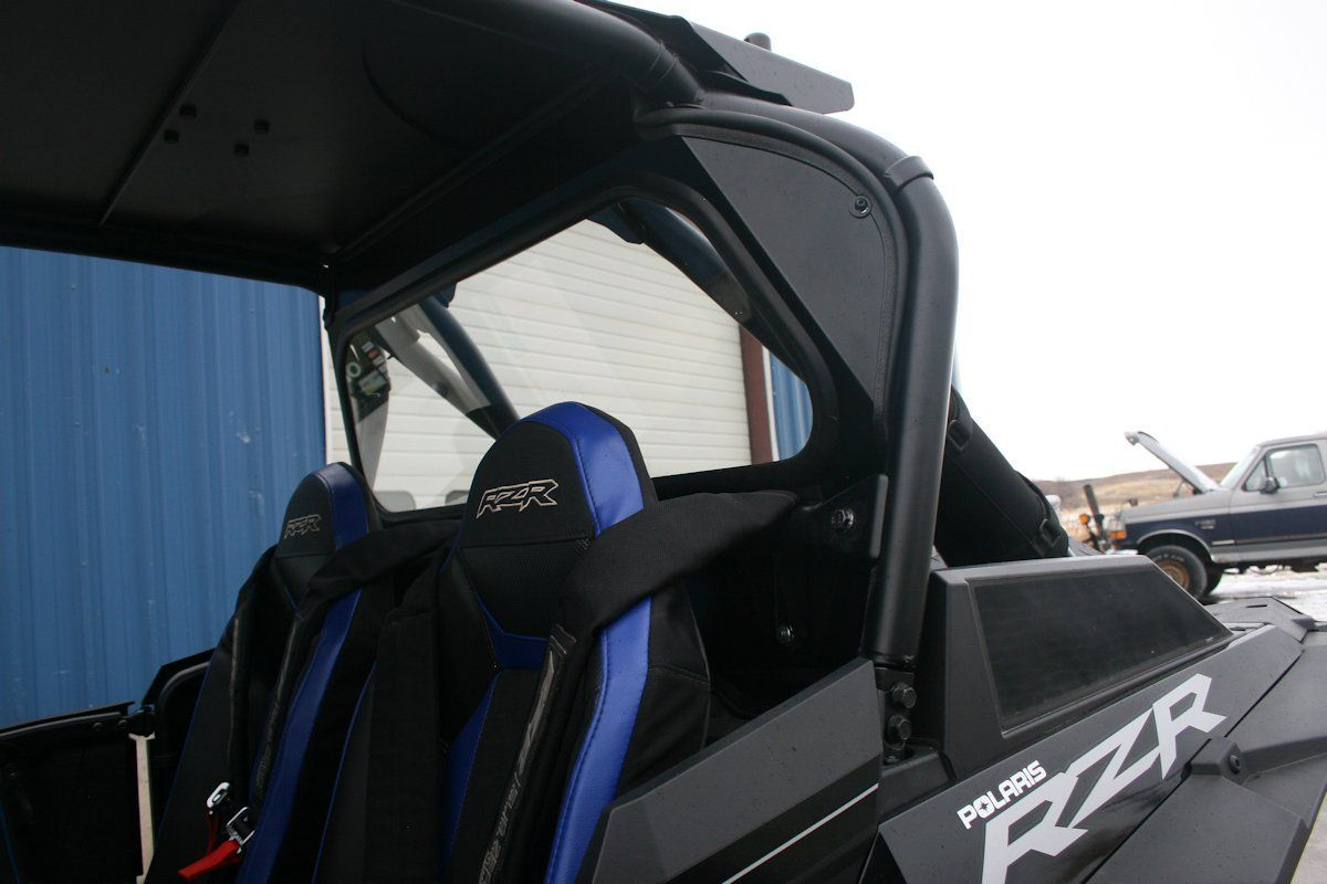 Ryfab Polaris Rzr Xp Turbo S Solid Glass Rear Window