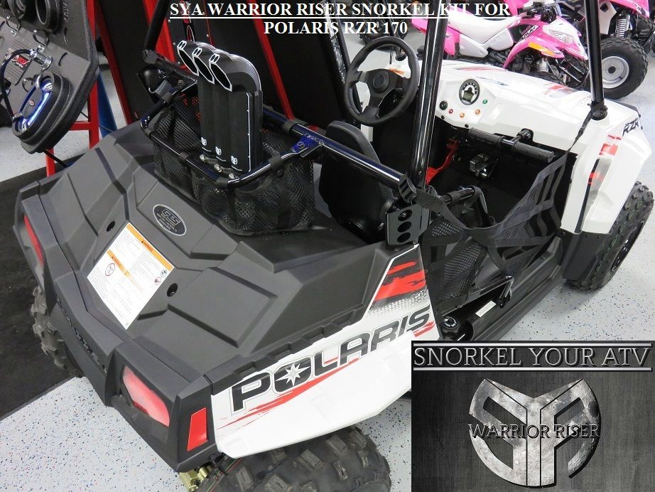 Polaris Rzr 170 Warrior Riser Snorkel Kit