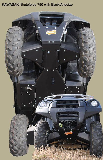 Rzr 570 Full Skid Plate Package
