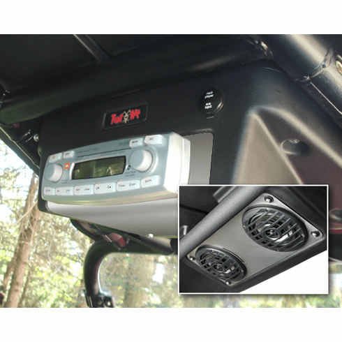 Rzr Sport Roof Stereo Console