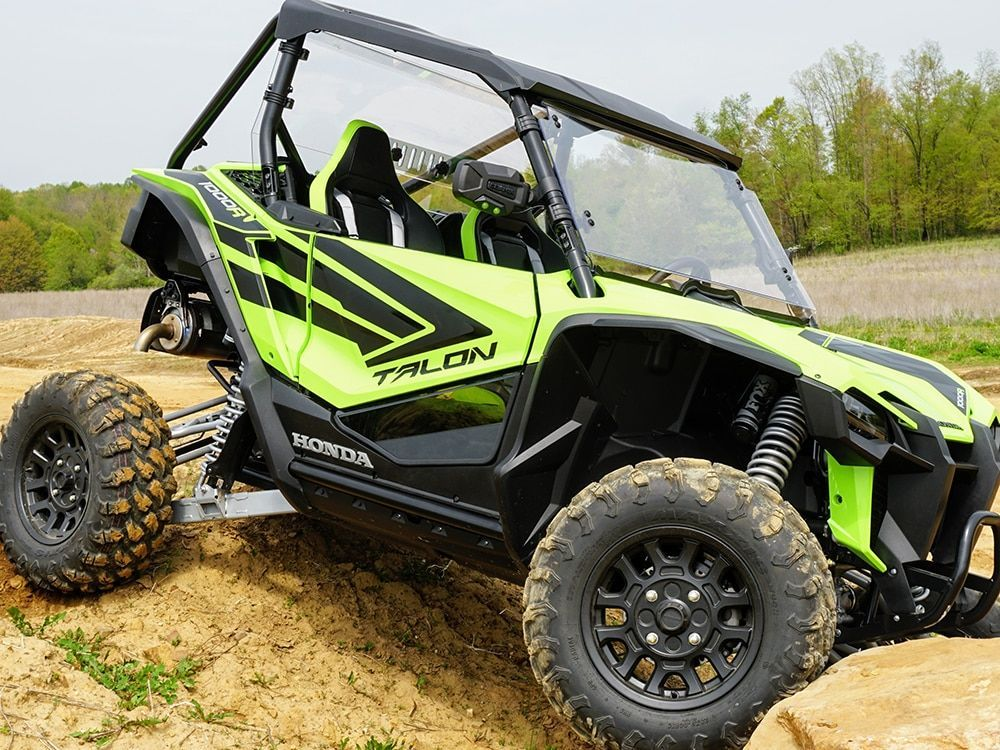 Kubota Rtv 1100 >> Spike Honda Talon 1000 Lower Door Inserts - Dark Tinted