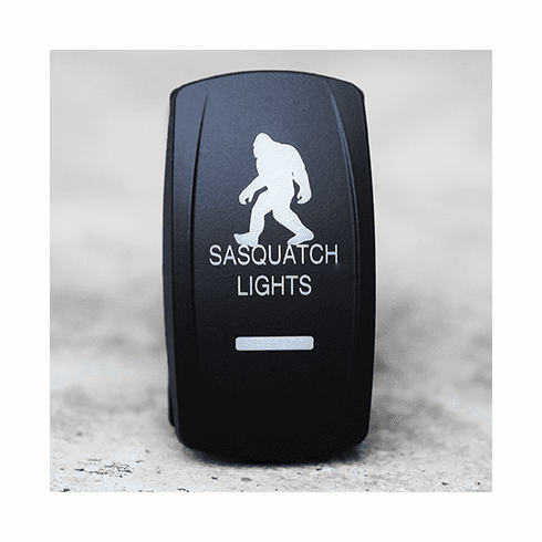 Squatch Lights - Dual Led Lighted Rocker Switch