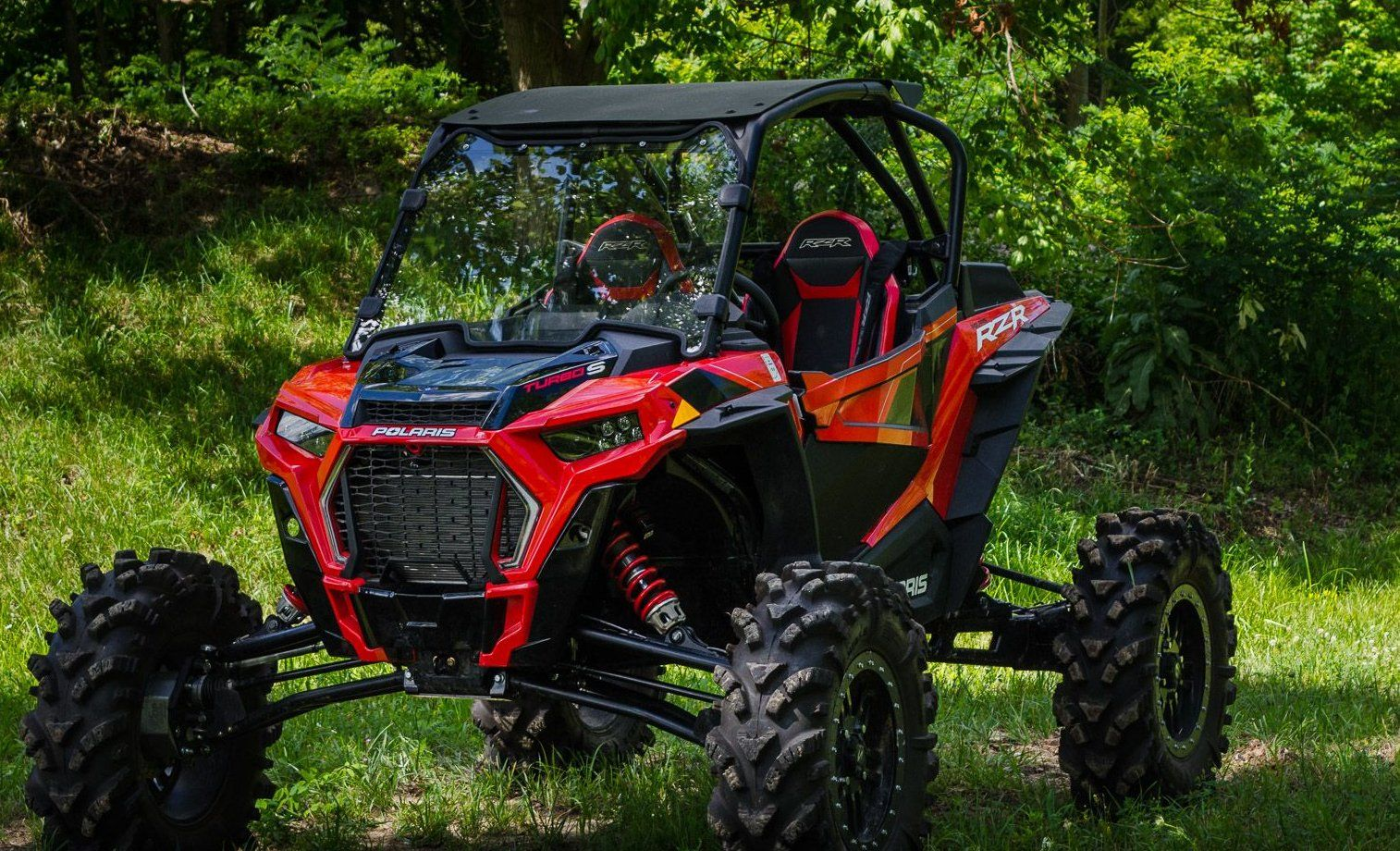 Super Atv Polaris Rzr Xp Turbo S Full Windshield