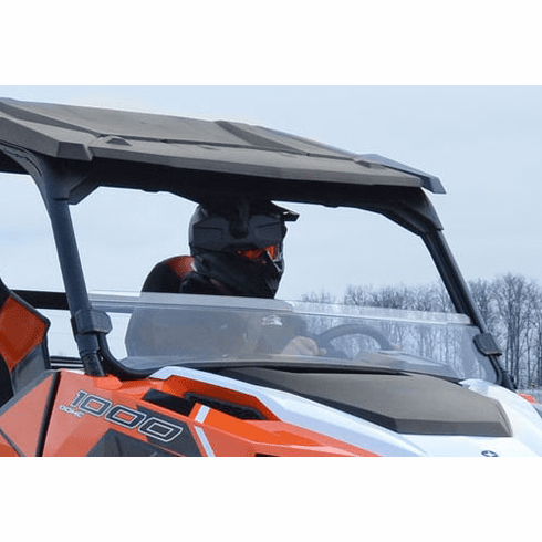 SuperAtv Polaris General Half Windshield Clear / Tinted