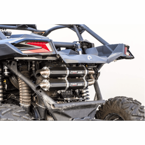Trinity Racing Can Am Maverick X3 Stage 5 Dual Full System Exhaust