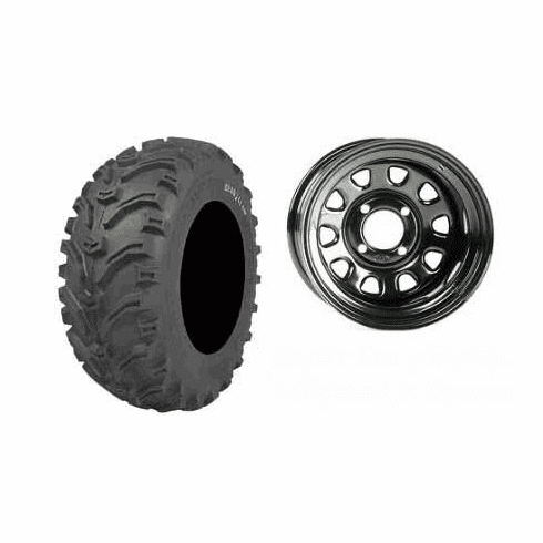 UTV Spare Tire and Wheel - Polaris / Honda / Can Am / Yamaha / Kawasaki / Arctic Cat