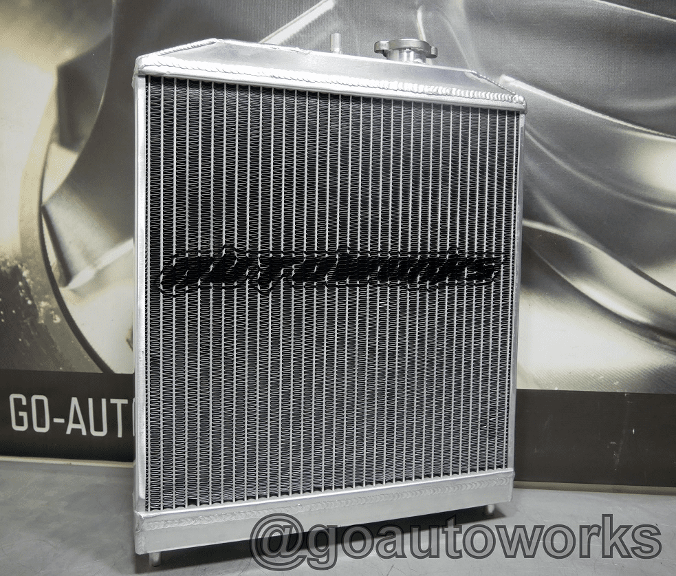 1/2 Sized Civic Aluminum Radiator (DOHC) Dual Core