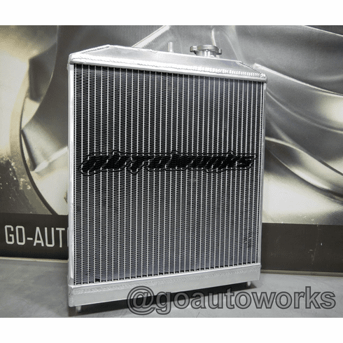 1/2 Sized Civic Aluminum Radiators (SOHC) Dual Core