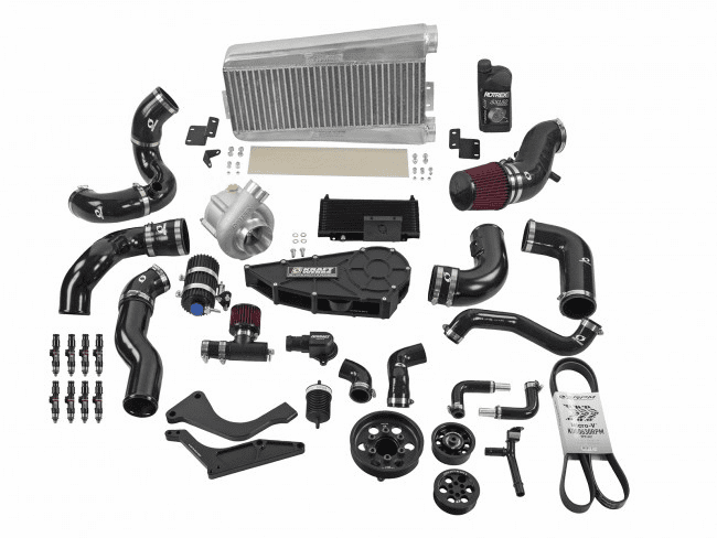 11-14 Ford Mustang 5.0L Coyote Supercharger System w/o Tuning - Black Edition