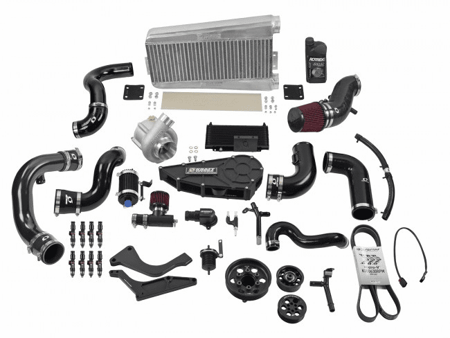15-17 Ford Mustang 5.0L Coyote Supercharger System w/o Tuning - Black Edition