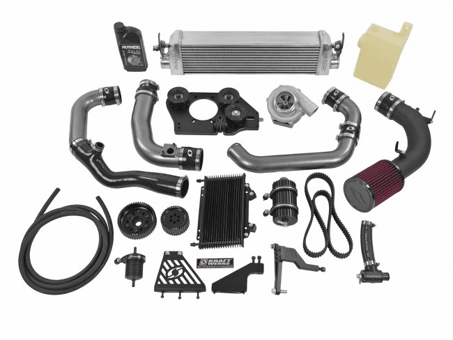 18-20 Subaru BRZ/ FRS/ FT86 Supercharger System - Base BLACK Edition w/o Tuning Solution