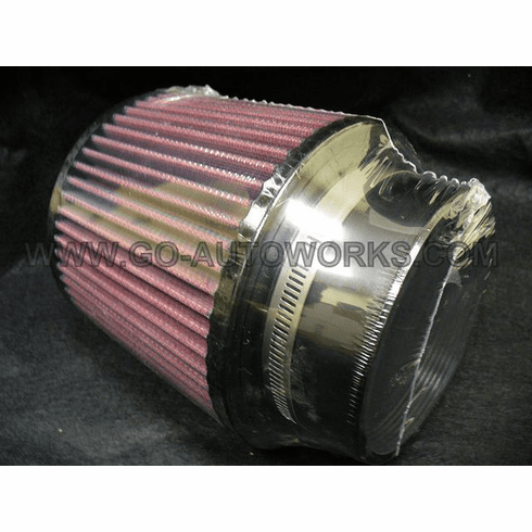 """2.5"""" Inlet Turbo Air Filter"""