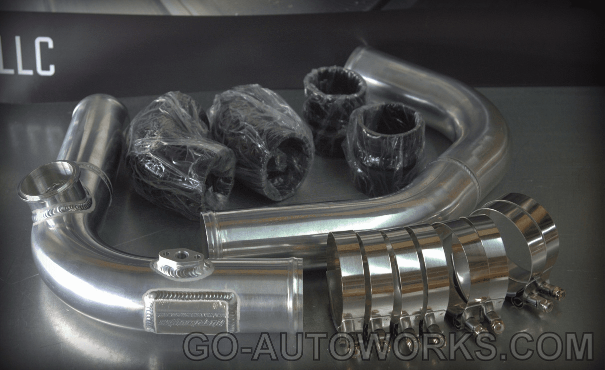 8th Gen Civic Si Upper  & Lower Cold Side Charge Piping