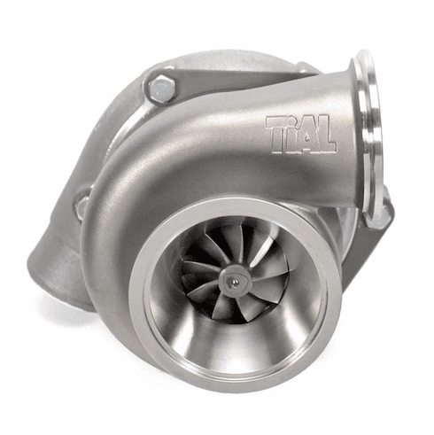 Garrett GT2860RS + TiAL .63 A/R Stainless V-Band Turbine Hsg.