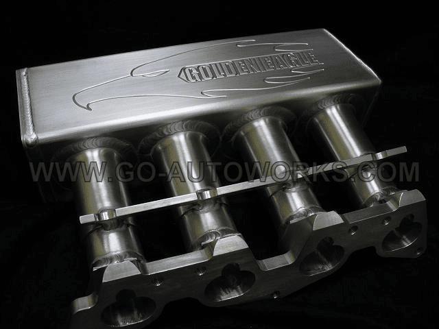 GEM Honda Intake Manifold- Natural Finish