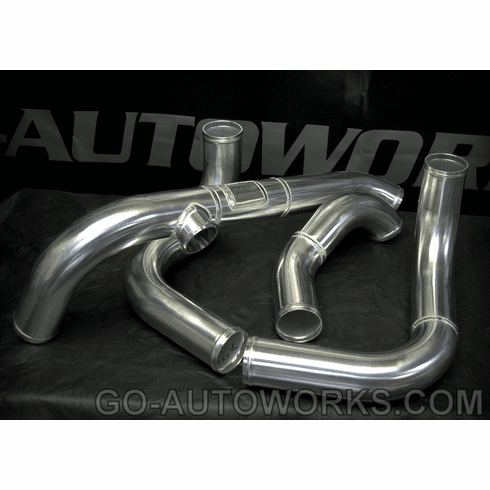 GO-AUTOWORKS 88-91 Civic/CRX  Race Charge Pipe Kits