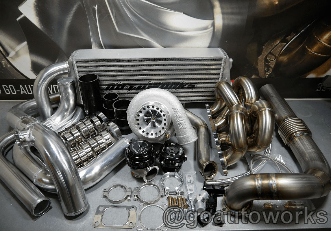 GO-AUTOWORKS A/C Pro Kit 3-700HP Integra Civic Del Sol