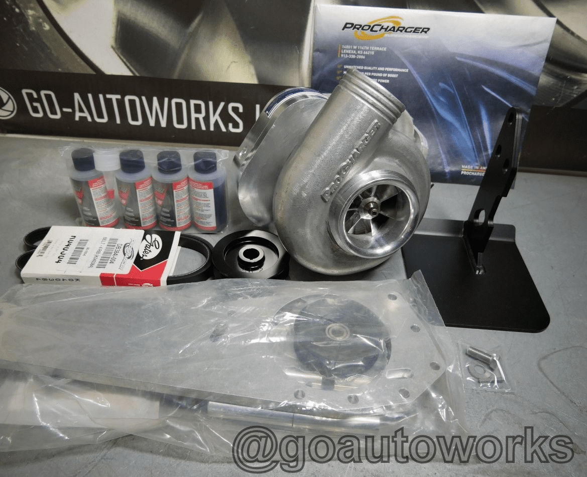GO-AUTOWORKS B Series C1A Tuner Supercharger Kit-High  Boost